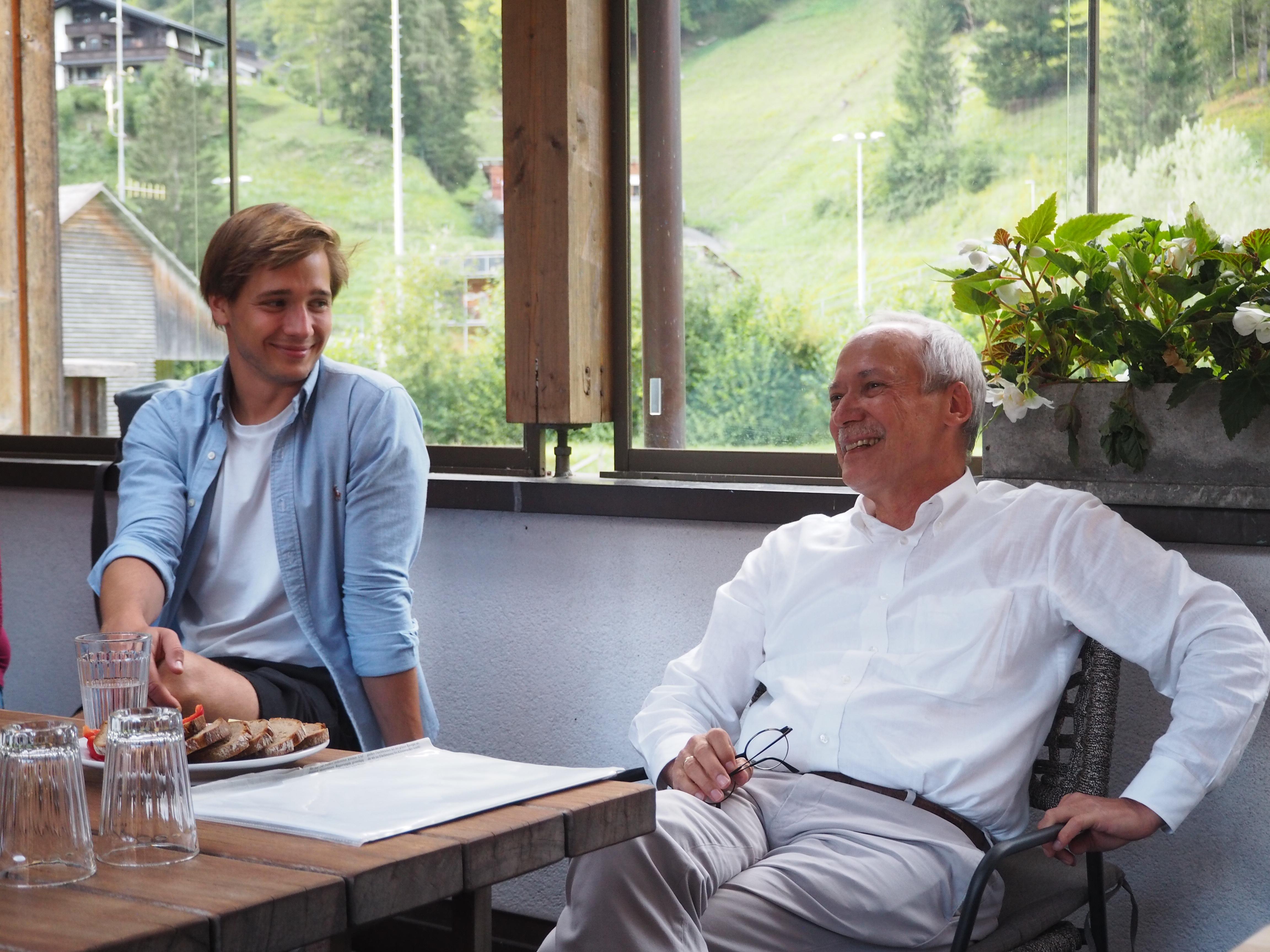 Im Gespräch mit Gerhard Schwarz
